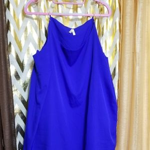 Royal Blue chain strap dress